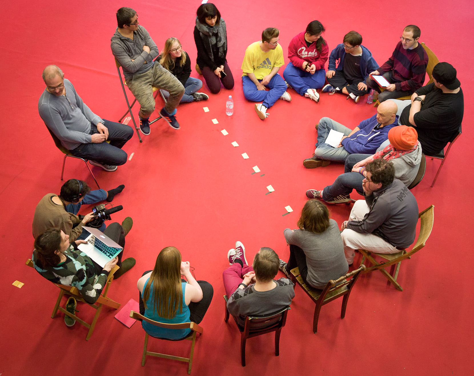 Ein Foto des Abschluss·Symposiums der «Freien Republik HORA»