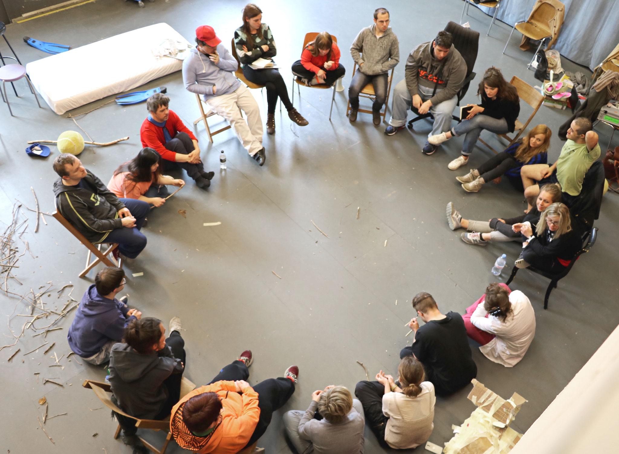 Ein Gespräch der Regisseure bei der Freien Republik HORA